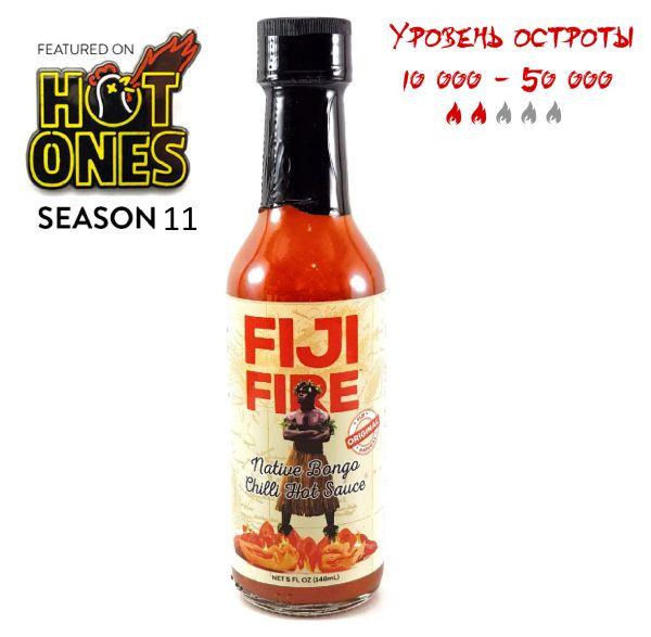 Острый соус Fiji Fire - Native Bongo Chilli Hot Sauce