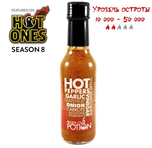 Острый соус Paddy O's Potion Hot Sauce