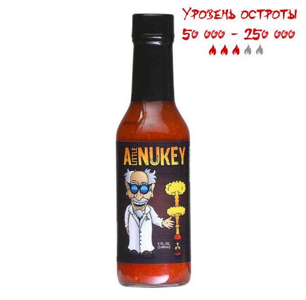 Гострий соус A Little Nukey Hot Sauce