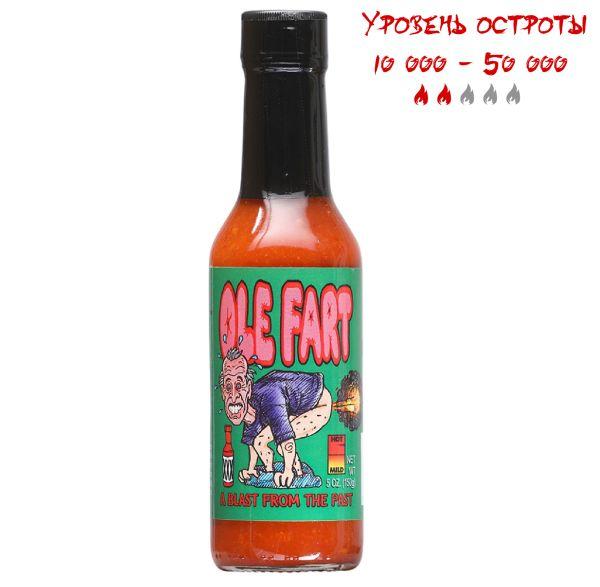 Гострий соус Ole Fart Hot Sauce