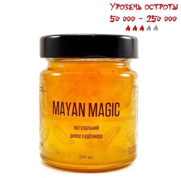Натуральний джем з хабанеро Mayan Magic