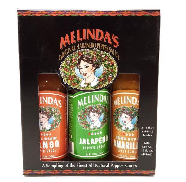 Подарочный набор острых соусов Melinda's Mild