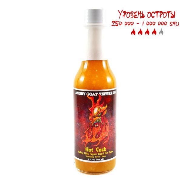 Гострий соус Angry Goat Hot Cock Hot Sauce