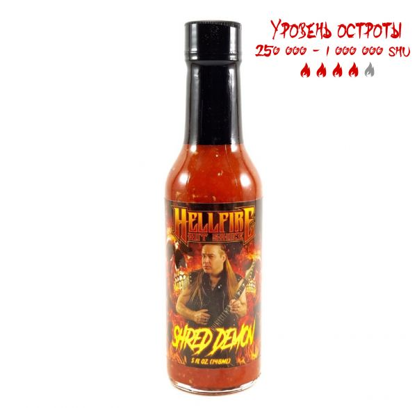 Гострий соус  David Shankle Shred Demon Hot Sauce
